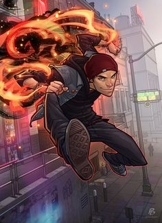 Infamous Second Son by PatrickBrown.deviantart.com on @deviantART