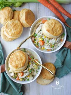 Slow Cooker Chicken Pot Pie - Peanut Butter and Fitness