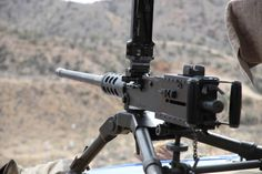 Big Sandy Shoot Photo Gallery...There She Is, The Famous Browning .50 Cal.!!