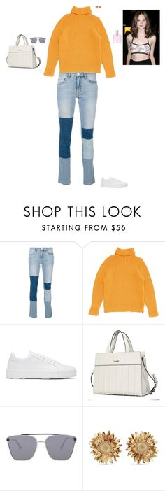 """Untitled #3434"" by gracewirth101 ❤ liked on Polyvore featuring Victoria, Victoria Beckham, Hermès, Jil Sander, Quay, Asprey and Lancôme"