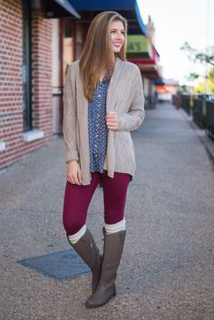 like the sweater style