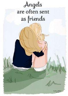 Friends are Angels     Friends are Angels  https://www.pinterest.com/pin/548383692102348660/   Also check out: http://kombuchaguru.com
