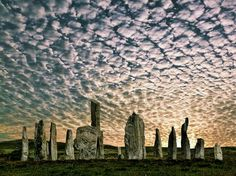 Calanais Stone Circle, Isle of Sky, Scottland