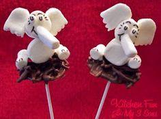 Horton Hatches the Egg Marshmallow Pops!!!