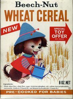 Beech-Nut Baby Food - box designed by Gyo Fujikawa
