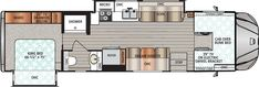 Force Class C Motorhomes by Dynamax RV Super C Motorhomes, Class C Motorhomes, Bunk Bed King, King Beds, Rv Financing, Cab Over, Rvs For Sale, Recreational Vehicles, Floor Plans