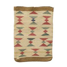"Nez Perce corn husk. Died corn husk on corn husk.PERIOD: Circa 1900ORIGIN: Nez Perce, IdahoSIZE: 13""x19"""