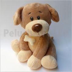 Código: WT11199 Perro con collar y huesito detalles bordados