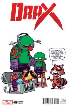 Drax :: 1 (All-New, All-Different Marvel) baby variant by Skottie Young