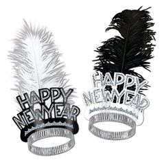 Chicago Swing New Year's Eve Tiaras (50ct)