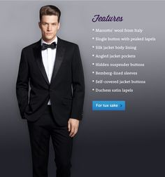 Image: Nothing Fits Better Than a Bonobos Tuxedo.