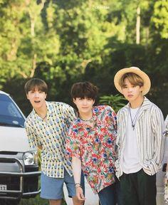 [SCAN] BTS Summer Package 2017 in Coron - Suga, Hobi, Jimin