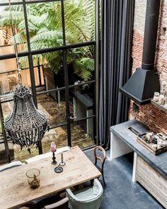 Gouden tips: raambekleding voor hoge ramen | http://www.woninginrichtingdoetinchem.nl/