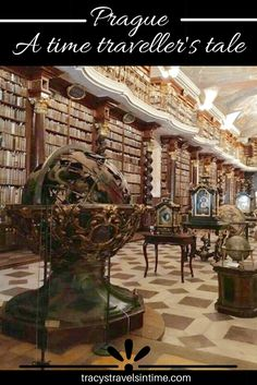 Visiting Prague? A time traveller's tale is based on our visit to the Baroque library hall in the Klementinum. A truly magical place.