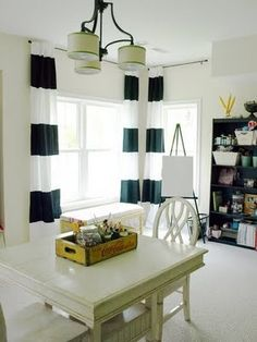 @Sarah Buenger you need these curtains for your room only with navy and white.