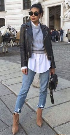 20 Best Vintage Winter Outfits for Teen Girls - - Stay warm a la mode with a vintage winter dress from a variety of retro eras. Winter Outfits For Teen Girls, Winter Outfits Women, Casual Winter Outfits, Winter Fashion Outfits, Cute Casual Outfits, Spring Outfits, Edgy Outfits, Fall Layered Outfits, Winter Fashion Women