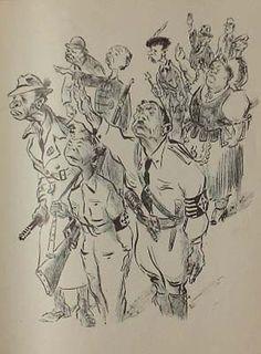 Peter Aldor : Center for Holocaust & Genocide Studies : University of Minnesota ~ Drawings by the Holocaust survivor artist Peter Aldor. Published by the Borochow-kr association, 1944-1945. Holocaust Memorial Art Album 1945 Hungary.
