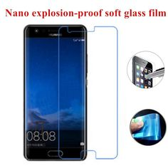 1Pcs Nano Explosion-proof Soft Glass Clear Screen Protective Film for Huawei P10