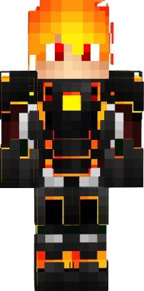 3D fire boy | Nova Skin