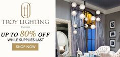 Find all Troy products at Homeclick - ceiling pendants, outdoor pendants, outdoor wall sconces and more from Troy at discount prices. Troy Lighting, Island Lighting, Vanity Lighting, Modern Lighting, Contemporary Light Fixtures, Modern Contemporary, Outdoor Wall Sconce, Outdoor Walls, Ceiling Pendant