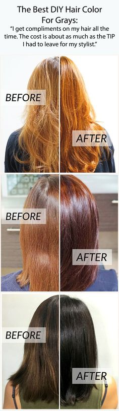 """Rethink your hair color routine: """"It was the exact hair color I was looking for...That in between color that you just can't get from store bought colors and can't get (afford) every month at the salon!"""""""