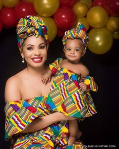 Choose from the best and beautiful matching African ankara styles for mother and daughter. These ankara styles are meant for stunning mother and daughter African Dresses For Kids, African Babies, African Children, African Women, African Print Fashion, Africa Fashion, African Fashion Dresses, African Outfits, Ankara Fashion