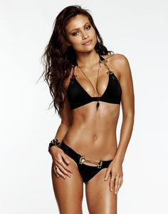d1b810f9b8a Beach Bunny Swimwear Unbridled Bikini in Black at Pesca Boutique. This  sophisticated and sexy halter