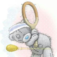 Osito tierno tenista