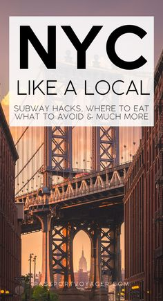A Local's Secret Guide to New York City - Want to enjoy NYC like a local, avoid tourist traps, common NYC mistakes, and more? Usa Travel Guide, Travel Usa, Travel Guides, Travel Tips, Travel Packing, Travel Essentials, Solo Travel, Nyc Itinerary, New York City Travel