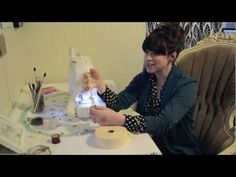 ▶ How to Ruffle Crepe Paper With a Sewing Machine: Ruffled Crepe Paper Tutorial - YouTube