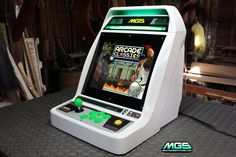 I designed and built this after the Sega Astro City Japanese arcade machine.  Its powered by a micro ATX mobo and a 15 lcd screen.  The computer runs windows and features a custom build o...