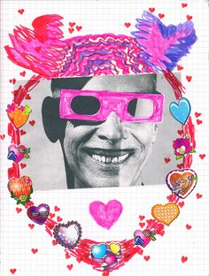 Illustration for an interview with John Waters by Hazel Cills. Original artwork by Minna Gilligan, 2012.