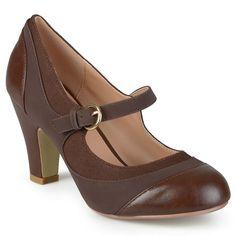 Journee Collection Siri Women's Mary Jane Heels,