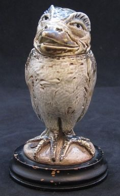 Martin Brothers Grotesque Bird by MARTIN BROTHERS - AD Antiques