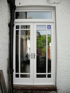 victorian edwardian 1930s reclaimed pub glass french doors double