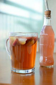 Chá gelado de pêssego caseiro | A casa encantada