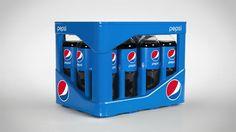 Pepsi Crate for Returnable Bottles