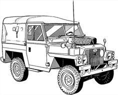 Land Rover 88 lightweight.