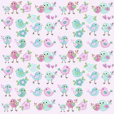 D044 - Children Bird - Fabricart Tecidos - Esampas Digital