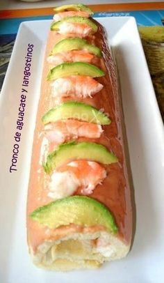 10 Great Tips On Cooking Meals Sushi Recipes, Seafood Recipes, Cooking Recipes, Healthy Recipes, Christmas Dinner Menu, Christmas Dishes, No Cook Appetizers, Appetizer Recipes, Bacalao Recipe