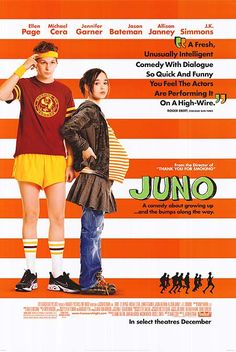 """Juno"" starring Ellen Page"