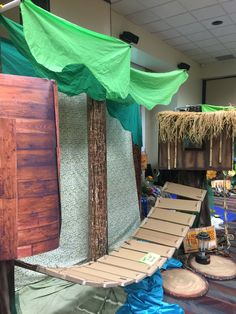 Treehouse example from Lifeway preview conference! #VBS2015