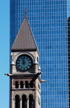 Toronto: Old City Hall clock tower