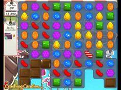 Candy Crush Saga level 135 Walkthrough video