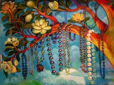 beads in trees