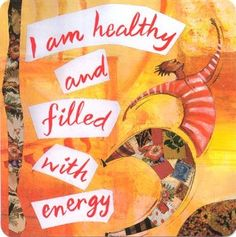 I am healthy and filled with energy. #lornajane #myactiveyear