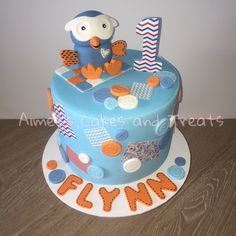 Hoot cake from Giggle and Hoot