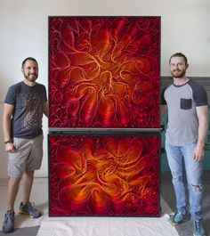 Stallman, modern, paper art, Original artwork, sculpture, abstract art, canvas on edge, fine art, blue, ocean, water, coastal art, seattle, jason…