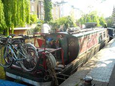 NARROW BOATS (BARCOS DE CANAL EN LONDRES)