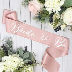 Bachelorette Sash - Bachelorette Party - Bride To Be Sash - Bridal Shower - Bride Gift Elegant satin sash for the Bride who wont settle for anything less than exquisite! These handmade sashes make a perfect gift that she can hold onto and cherish long after walking down that aisle. PRODUCT INFO: - Bride To Be sash - For Personalized sashes..... https://www.etsy.com/listing/472452155/personalize-my-sash-future-mrs-sash?ref=shop_home_active_4 - Each of our sashes are handmade in our Houston…